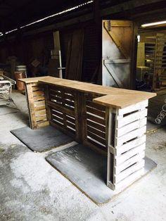 Barra de la plataforma de Shabby Chic por WoodlandInteriors en Etsy
