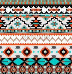 Vector: Seamless navaho pattern