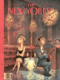 The New Yorker, February 19, 1996 - Peter de Sève