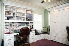 Fun Organized Craft Room