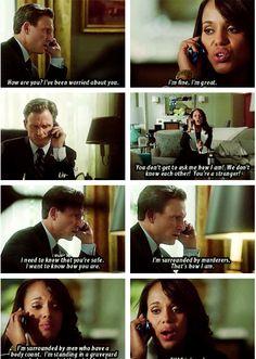 Scandal - Olivia & Fitz #Olitz #Season3