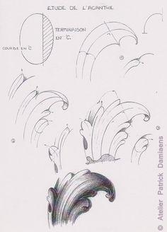 Sculpture Ornementale PATRICK DAMIAENS: LA FEUILLE D'ACANTHE | MOTIFS…