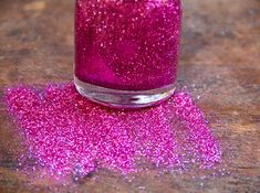 Slumber party glitter nail polish ==