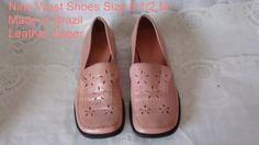 NINE WEST Upper Leather Comfortable  Sz  6 by RareEarthProducts