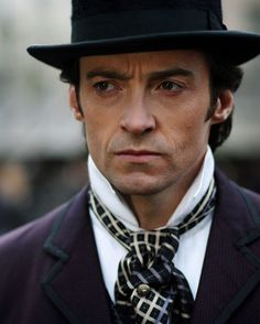 Okay, I think Hugh Jackman is going to have to be Wesley for me. Love the determination and pensive thought communicated here. He's just missing Wesley's tricorn hat and proper cravat. (Hugh Jackman, The Prestige (2006)
