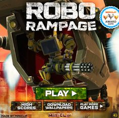 Play #RoboRampage. You have travelled to Planet Junk to battle the fiercest robots in the solar system.