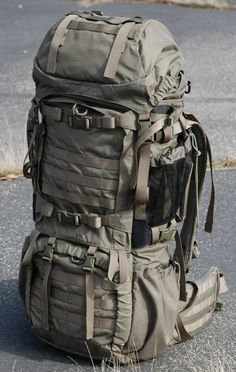 the MOLLE webbing allows for expansion