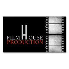 Film director executive producer business card design cardz director clapperboard film movies producer act business card colourmoves
