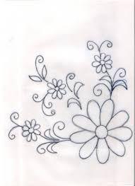 Resultado de imagen para diseños de flores para servilletas