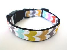 Collar Colorful wave by usagiteam on Etsy, $19.00