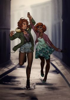 Piper Mclean and Hazel Levesque