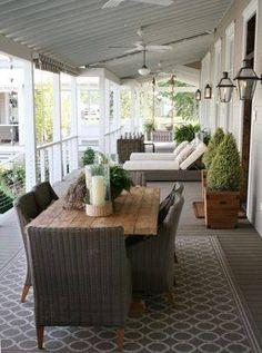 Summer porch Living