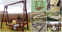 Exciting Outdoor DIY: Brilliant Swinging Benches for Summertime Fun featured on diyncrafts.com