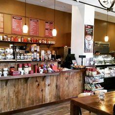 Inside of peet's cafe:)