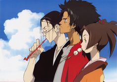 What do people think of Samurai Champloo? See opinions and rankings about Samurai Champloo across various lists and topics. Best Action Anime, Manga Anime, Anime Art, Afro Samurai, Nerd, Anime Group, Battle Cry, Cowboy Bebop, Animation