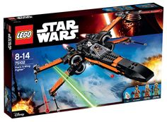 Comparez les prix du LEGO Star Wars 75102 Le X-Wing Fighter de Poe avant de l'acheter ! Infos, description, images, vidéos et notices du LEGO 75102 Le X-Wing Fighter de Poe sur Avenue de la brique