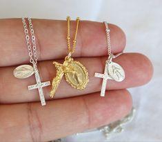 #crucifix #catholic Gold Band Ring, Pearl Ring, Aquamarine Stone, Amethyst, Catholic Jewelry, One Ring, Crucifix, Gold Beads, Ring Earrings