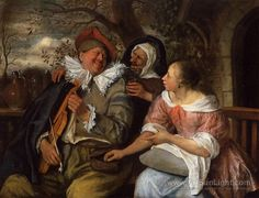 The Merry Threesom - Jan Steen