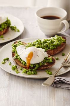 Peas on toast are the new avocado on toast! Try mashing peas with Parmigiano Reggiano, a little oil, mint and lemon zest. Pile onto sourdough toast and top with a poached egg for a delicious breakfast.