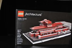 Lego building set of Frank Lloyd Wright home