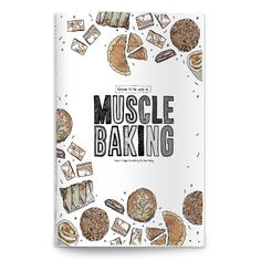 Muscle Baking Recipe Book (Paperback Edition) | GYMVERSUS