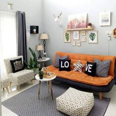 Read all you need to know about living room minimalist. Get inspired simple living room design, modern small living room, Minimalist interior design. Simple Living Room Decor, Home Design Living Room, Small Living Rooms, Small Apartment Design, Minimalist Furniture, Modern Minimalist, Home Interior Design, Living Room Furniture, Decoration