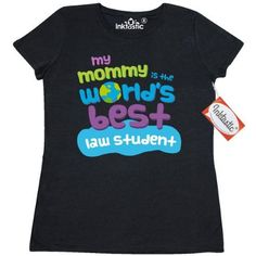 Inktastic Law Student Gifts For Kids Women's T-Shirt Auditing Clothing Apparel Clothes Occupation Job Cute Tees Adult Hws, Size: XL, Black
