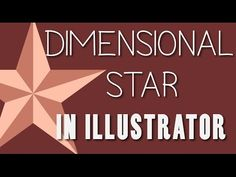 Illustrator - Dimensional Star Drawing - YouTube