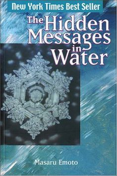 Japanese scientist Masaru Emoto has been researching this new field of science by freezing samples of water that have been exposed to either positive or negative words, emotions and music. Through photographs Dr. Emoto has found that water exposed to positive influences produces beautiful, perfectly formed crystals, while water exposed to negativity produces ugly, malformed crystals. Now, how much of our bodies are made up of water? What effect do our thought have on us?
