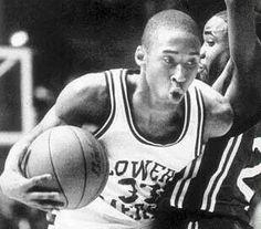 Kobe,memories in high school :)