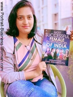 Portrait of Business Woman: Shaily Sharma Successful Female Entrepreneur of India Co Founder, Start Up Business, Powerful Women, Business Women, Entrepreneur, Success, India, Woman, Lifestyle