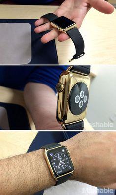 Simple and elegant, the Apple Watch Edition looks like a true luxury item.