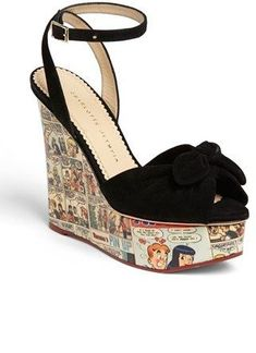 check out c1575 f2358 Charlotte Olympia 'Archie' Wedge Sandal (Nordstrom Exclusive) on  shopstyle.com #