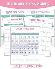 Health & Fitness Planner