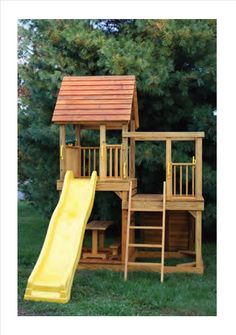 Playground look out towers | Rent To Own Storage Buildings, Sheds, Barns, Lawn Furniture ...