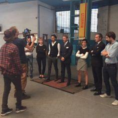 #LapoElkann Lapo Elkann: Today with garage Italia Customs Team in our new home . Proud of u guys . #italiansdoitbettter @garageitaliacustoms