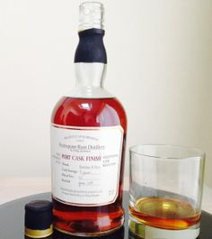 Foursquare Port Finish rum review by the fat rum pirate
