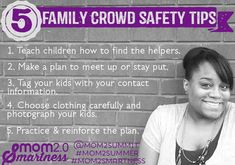 Family Crowd Safety Tips