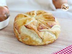 Hojaldre de camembert con jamón y cebolla, Foto 3