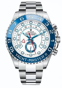 Rolex Yacht-Master II / Neues Modell $ 19,372 #Rolex #watch #watches #chronograph steel case with steel bracelet, automatic movement