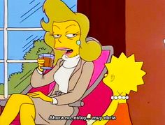"""""""Not now, I'm too drunk"""". - The Simpsons The Simpsons, Simpsons Quotes, Simpsons Meme, Tv Quotes, Crazy Quotes, Futurama, Cool Cartoons, Reaction Pictures, Cartoon Characters"""