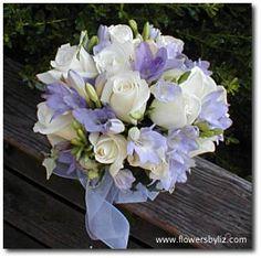 Periwinkle Wedding Flowers | Re: periwinkle bridesmaid dress...suggest flowers please!