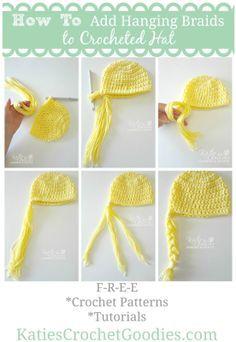 Free Frozen, Rapunzel, Disney Princess Crochet Hat Pattern | Katie's Crochet Goodies