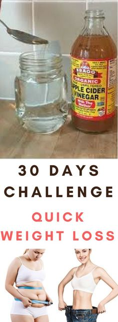 Apple cider vinegar for quick weight loss