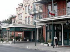 Fairmont Hotel - San Antonio - 2002.