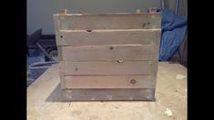 wooden planter (pallet project) - Margaritis (Takis) Kailos Wooden Planters, Pallet Projects, Wood Pallets, Videos, Home Decor, Wood Planters, Decoration Home, Pallet Wood, Room Decor