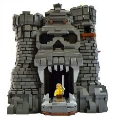 Awesome+LEGO+Castles | Awesome custom LEGO Castle Grayskull… and He-Man!