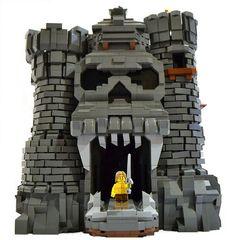 Awesome+LEGO+Castles   Awesome custom LEGO Castle Grayskull… and He-Man!