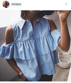 Zara shirt ❤️ instagramer @ninauc