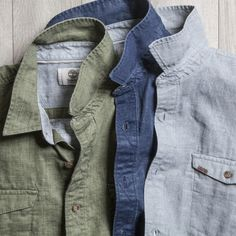 What we're wearing? Linen. Click through to see all the ways to style it.